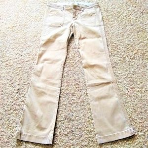 Hollister Women's 5R Tan Boot Cut Jeans Casual
